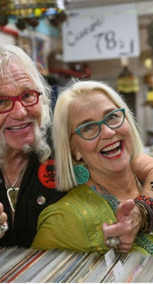 Laurence and Sally Martin