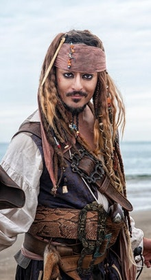 Real Jack Sparrow - Louis Guglielmero