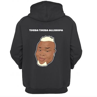 Exklusiv hoodie designad av Megic Mike!