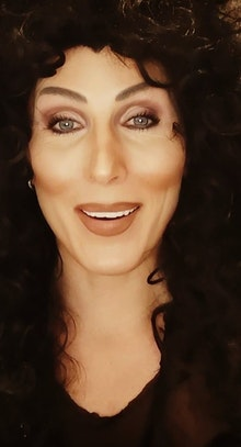 Kelly Marie as Cher