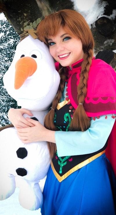 Frozen's Princess Anna
