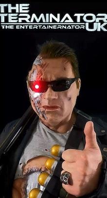 Arnold Schwarzeneggers Terminator uk