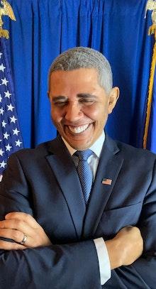 Reggie Brown as Barack Obama
